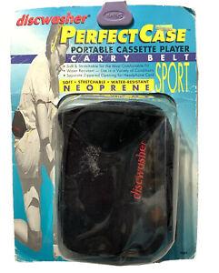 Perfect Case Cassette Tape Player Fanny Pack Belt Carrier NOS Original Packaging