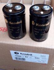 2PCS NEW KENDEIL K01 10000UF 63V CAPS AUDIO QUAD303 QUAD 405 UPGRADE NAIM AMP !