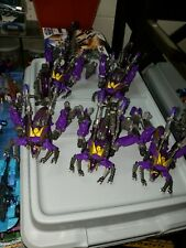 Lot of 5 x Loose, Complete Transformers Generations FoC Kickback Insecticons