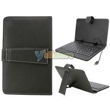 "Leather Cover Case with Mini USB Keyboard for 7"" Tablet PC PDA Android"