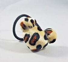 Mickey Mouse Leopard Print Ponytail Holder - Disney Hair Tie