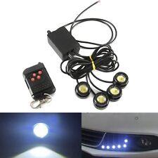 4LED 12W 12V Car Hazard Emergency Warning Traffic Advisor Flash Strobe Light Kit