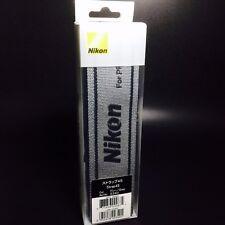 Nikon 2340 Neck/Shoulder Strap 45 mm GRAY for Professional Original Brand New