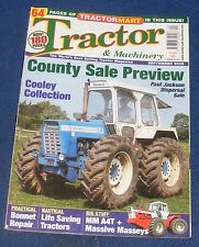 TRACTOR & MACHINERY SEPTEMBER 2006 - COUNTY SALE PREVIEW/COOLEY COLLECTION