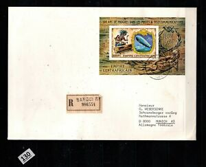 // CENTRAL AFRICAN REP 1974 - IMPERF - R-FDC - UPU, ZEPPELIN, MUSIC