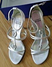 Stuart Weitzman  Bridal sparkling   Dress Sandals, White, 8.5 US