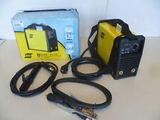 Esab BUDDY ARC 180 Saldatrice Inverter a elettrodo MMA con cavi pinze 0700300680