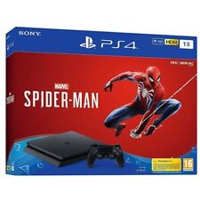 Consola Sony PS4 Slim 1TB Marvel Spiderman
