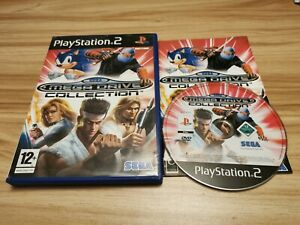 Sega Mega Drive Collection For Sony PlayStation 2 PS2 Complete - See Offer!