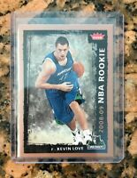 Kevin Love NBA ROOKIE CARD 08/09Fleer Basketball RC T-Wolves Cleveland Cavs! MT