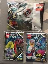 LEGO 30464 Hidden Side Canon Set And 792005 With 792006  PolyBags - BNIP - New