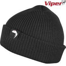 Viper Tactical Bob Hat Airsoft Clothing Headwear Outdoor Sports Cap Beanie Black
