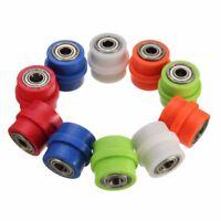 8/10mm Chain Roller Pulley Slider Tensioner Pit Dirt Bike Wheel Guide