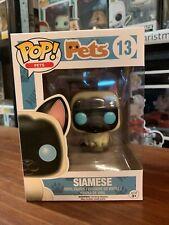 Pop Pets Siamese 13 Funko Pop Vinyl EXPERT PACKAGING