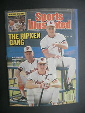 Sports Illustrated March 9, 1987 Ripkens Cal Sr Cal Jr Billy MLB NHL Mar '87 D