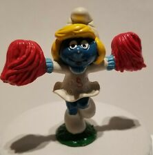 Smurf -PVC Cheerleader Smurfette Figure1981 Schleich Peyo