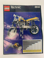 LEGO 8838 Technic Replacement Manual Directions Instructions booklet ONLY book