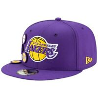 Los Angeles Lakers New Era Patched 9FIFTY Snapback Adjustable Hat - Purple