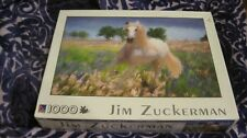 JIM ZUCKERMAN BOLD BEAUTIFUL HORSE 1000 PC PIECE JIGSAW PUZZLE COMPLETE NEW