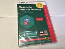 Kaspersky Internet Security 2016 - 3 Devices 1 Year PC Mac & Mobile