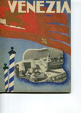 DEPLIANT OPUSCOLO 1939,VENEZIA,LIDO,PALAZZO DEL CINEMA,ENIT,FUTURISMO,