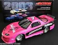Jimmie Johnson #7 True Value 1/24 Action 2003 SIGNED BRICKYARD WIN IROC Firebird