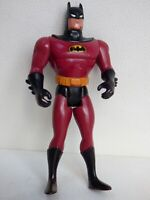 Vintage 1993 Kenner DC Comics Animated Infrared Batman Red Action Figure Toy 5""
