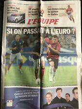 L'Equipe Journal 11/10/2011; France-Bosnie-Herzégovine/ Tony Parker/ XV Galles