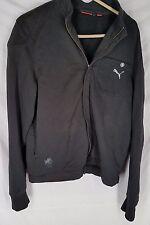 Michael Schumacher Puma Signature Dragon Jacket Mens Medium black zipper front
