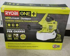 Unused Ryobi One+ 18 Volt Cordless Chemical Fogger/Mister Opened Box