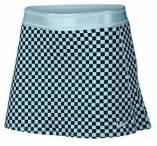 Nike Womens Court Dry Performance Tennis Skort - AT6823 449 - Sz M - Topas/Blk