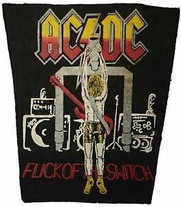 AC/DC - Flick of the Switch Patch; Hard Rock Aufnäher
