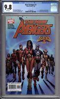 New Avengers 7 CGC Graded 9.8 NM/MT 1st Illuminati Marvel Comics 2005