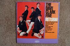 """Dave Clark Five LP """"Return"""" Epic (LN 24104-Mono), Excellent"""