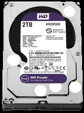 HARD DISK 3,5 WESTERN DIGITAL PURPLE 2TB SATA3 64MB WD20PURZ VIDEOSORVEGLIANZA