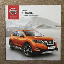 NISSAN - X-Trail Genuine Accessories UK Sales Brochure June 2017