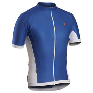 Bontrager RXL Racing Jersey SS Blue Cycling Profila Full Zipper NEW S XL