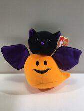 Ty The Halloweenie Beanies Collection Batty Pumpkin/Bat Plush
