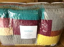 "Sundance LaLou Patchwork Queen Quilt with Victor Mill Queen Bed Skirt 15"" Drop"