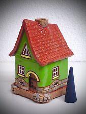CASA ahumeante Fumador CASA Cerámica Colores 11cm Figura Humeante 40448