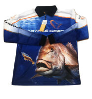 Savage Gear Savage Men's Snapper Sublimated Polo XL Fishing