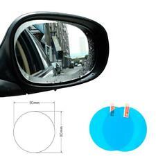 2pc Car Side Rearview Mirror Anti-Fog Rain-Proof Waterproof Film Glass Sticker