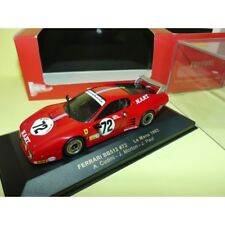 Ferrari Bb512 N°72 le Mans 1982 IXO Fer016 1 43 Arrivée 9ème