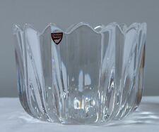 """Orrefors Jan Johansson 6"""" Crystal bowl. 4514-12. New, no box (see photos)"""