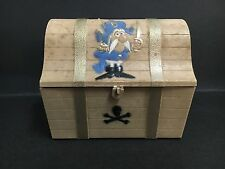 CEREAL TOY U.S CAPTAIN CRUNCH SEND AWAY TREASURE CHEST MONEY BOX BANK FROM 1996