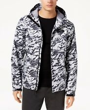 The North Face Men's Millerton Hooded Rain Jacket Large White Metal MSRP $115