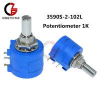 3590S-2-102L 1K Resistor Ohm Rotary Wirewound Precision Potentiometer Pot