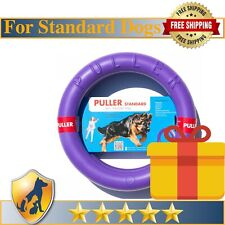 PULLER Collar Dog Training Tool 2 Rings in set Toy For Training And Fitness-28cm