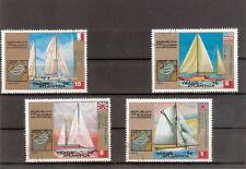 Lotto n 4 francobolli - REPUBBLICA DE GUINEA ECUATORIAL - Trans Atlantica Barche