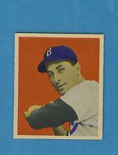 1949 Bowman Baseball Single: #70 Carl Furillo (EM)